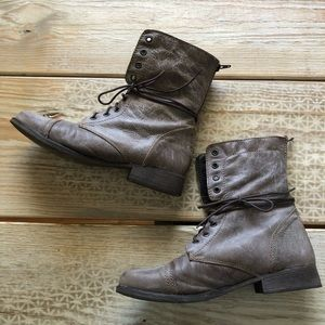 Steve Madden Shoes - Steve Madden Boots, kombat brown